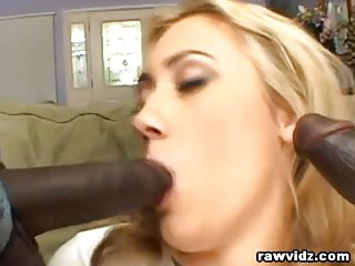 Black Studs Just Fucked The Hell Out Of This Blonde Hottie