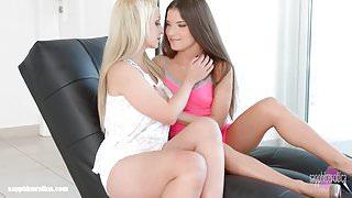 Boring Book - lesbian scene with Anita B and Nina Trevi