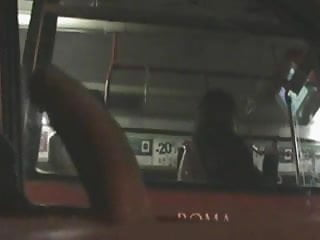 Preview 4 of fascinated to see bigcock flashing car to bus