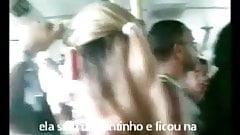 Encoxada 151: Spectacular blonde in her mid 30s on da bus