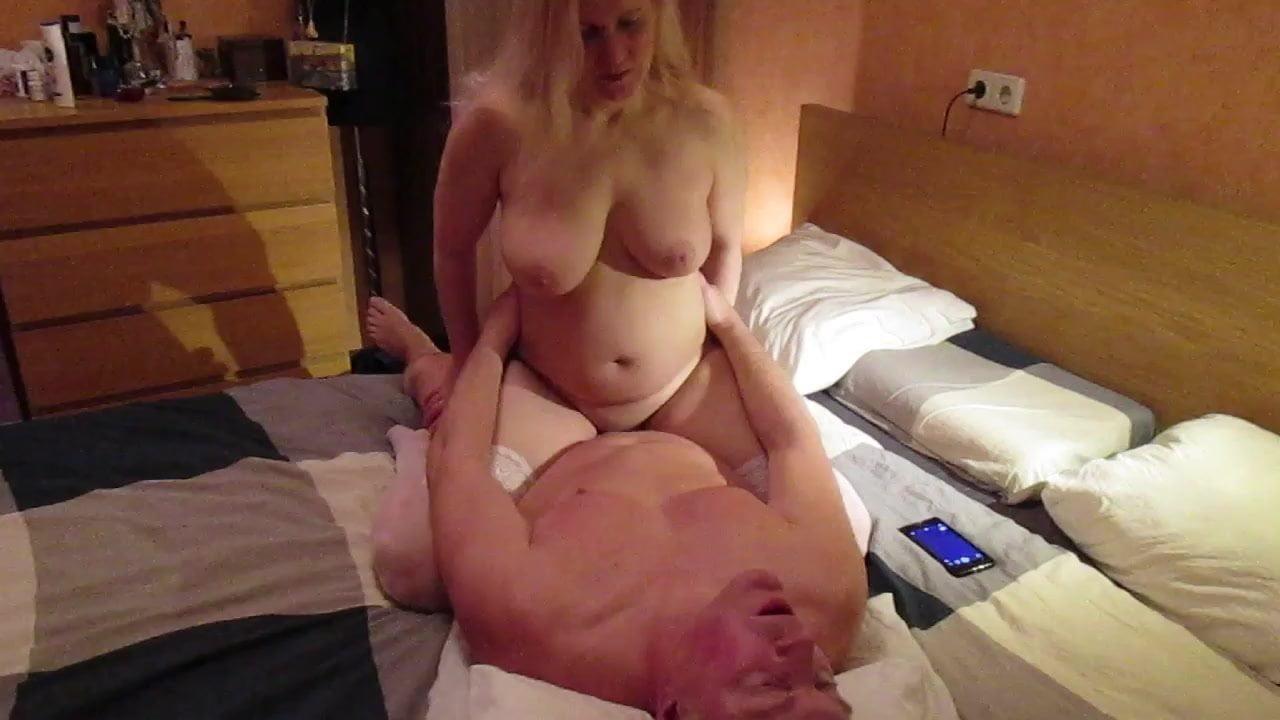 Tania blonde russian milf pasionate fuck