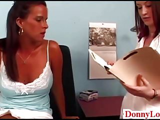 Dr Donny Long tricks big boob hot slut to fuck