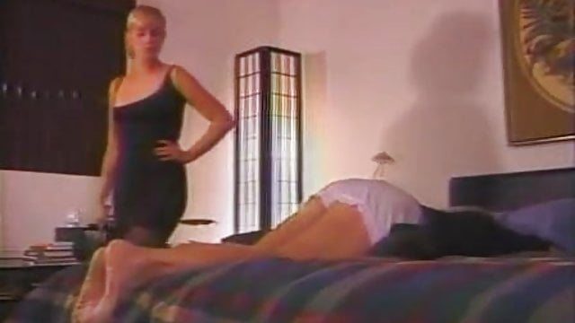 Nude slave handjob cock cumshot