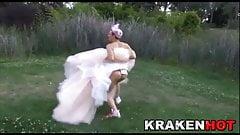 Krakenhot - Crazy bride, submi