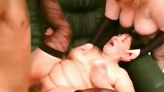 Nympho Fat Sluts taken from the bar fucking one lucky dude-2