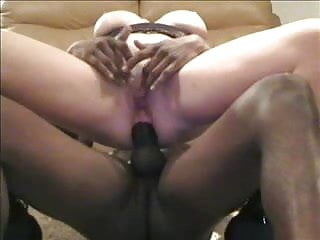 Another white married slut gets balck cock up the ass