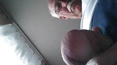 Caucasian sexy grandpa