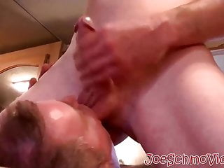 Keith getting a handjob and blowjob from a straight dude