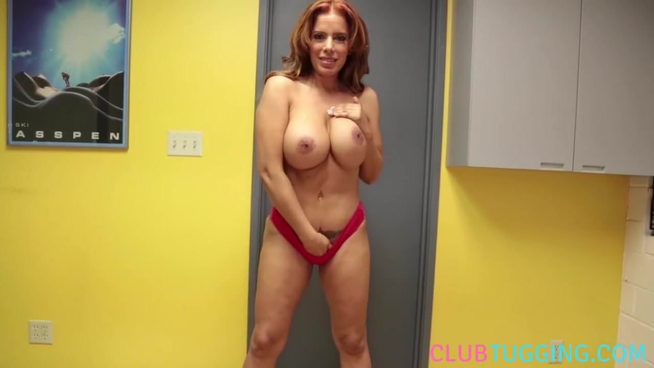 Sexy girl doing crazy