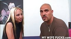 Your wife likes taking big cocks hard