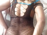 Bodystocking riding