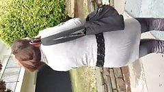 cumming in public on a hot girl