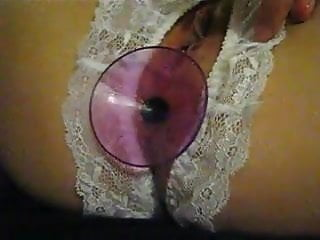 poilue plug cul string fendu crotched panty anal