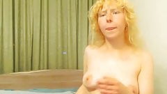 curly blonde shy russian cam-slut's Thumb