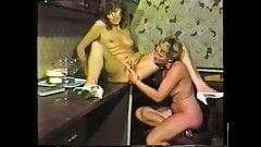 Creamy Pussy due to Lesbian Licking and Fingering