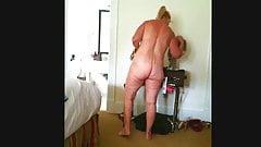 BEAUTIFUL 60+ YEAR OLD WIFE IN HOTEL