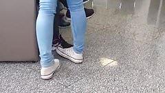 Novinha de jeans