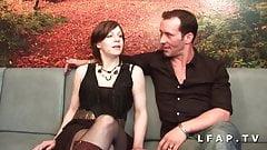 Jolie cochonne francaise sodomisee et prise en double pene