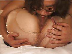 Amateur Japanese Couple Pantyhose sex