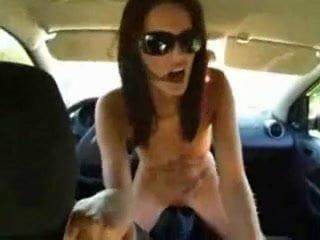 Unusual pleasure for sluts in cars