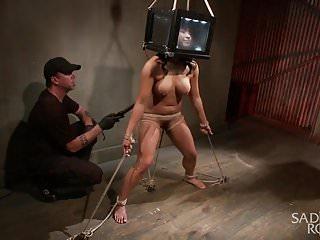 Asian Bondage Slut gets Destroyed!