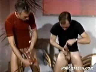 Retro Homosexual Penis Pumpers