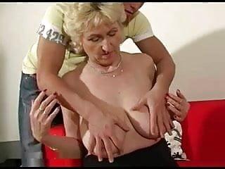 Marta horny mum spunked by youngman