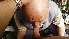 80 year old grandpa suck me