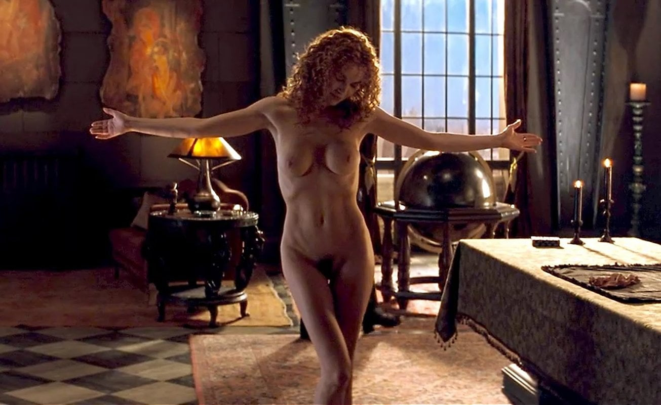 Connie Nielsen Nude Boobs and Butt in the Devils...