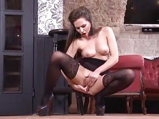 Perfect Bodied Girl Masturbating In Bodystockings