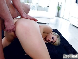 AssTraffic Threesome fucking and sucking for Jemma Valentine