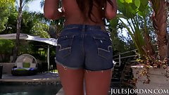 Jules Jordan - Autumn Falls 18 Year Old Teen Slut