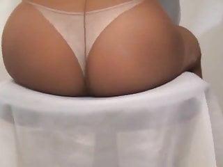 crossdresser pantyhose ass 001