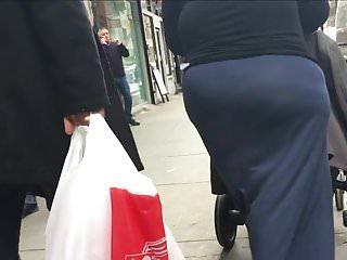 SSBW PAWG Milf see-thru Skirt! WooWeee
