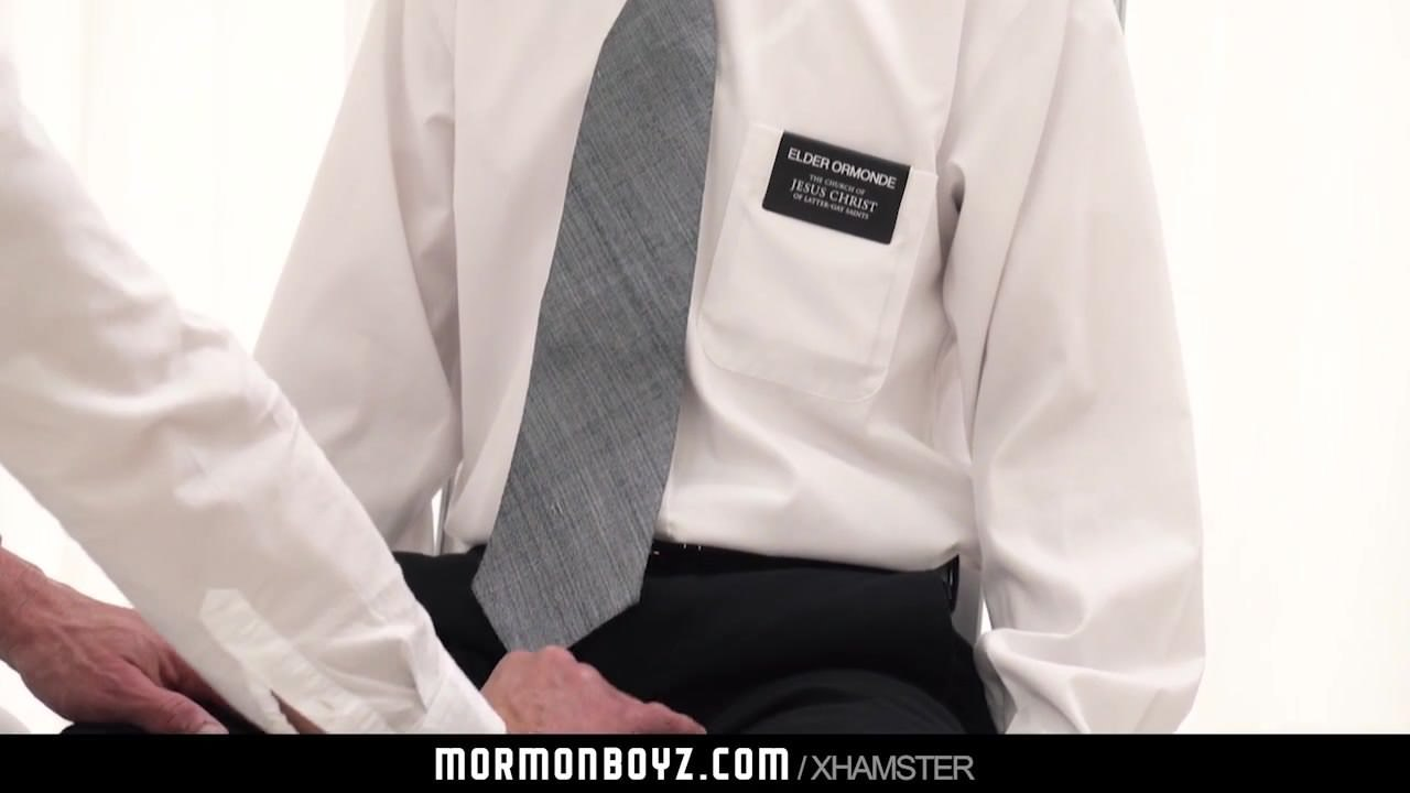Good-looking priest chief strokes sure homosexual missionarys cock