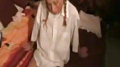 52  fatoselelci  Hot Blond Pigtailed Amateur Teen