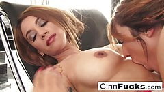 Christiana Cinn makes sure her girlfriend has the ultimate