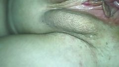 Wife spreads her ass and pussy for all to see