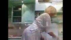My aunt hot kitchen no nude