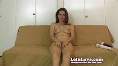 Lelu Love-Naked Vibrator Masturbation Instruction