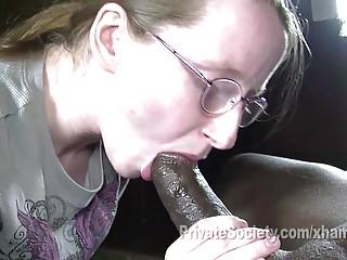 Anjali porn - Heidi goes black