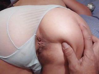 Homemade Anal : Booty Milf's big Ass , my christmas present
