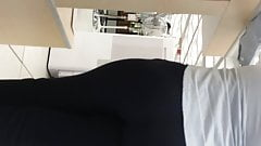 NICE ROUND ASS WITH THONG