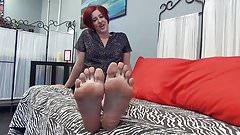 Big Blue Toes