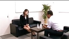 censored Good Asian Woman Lewd Office Lady scene 4