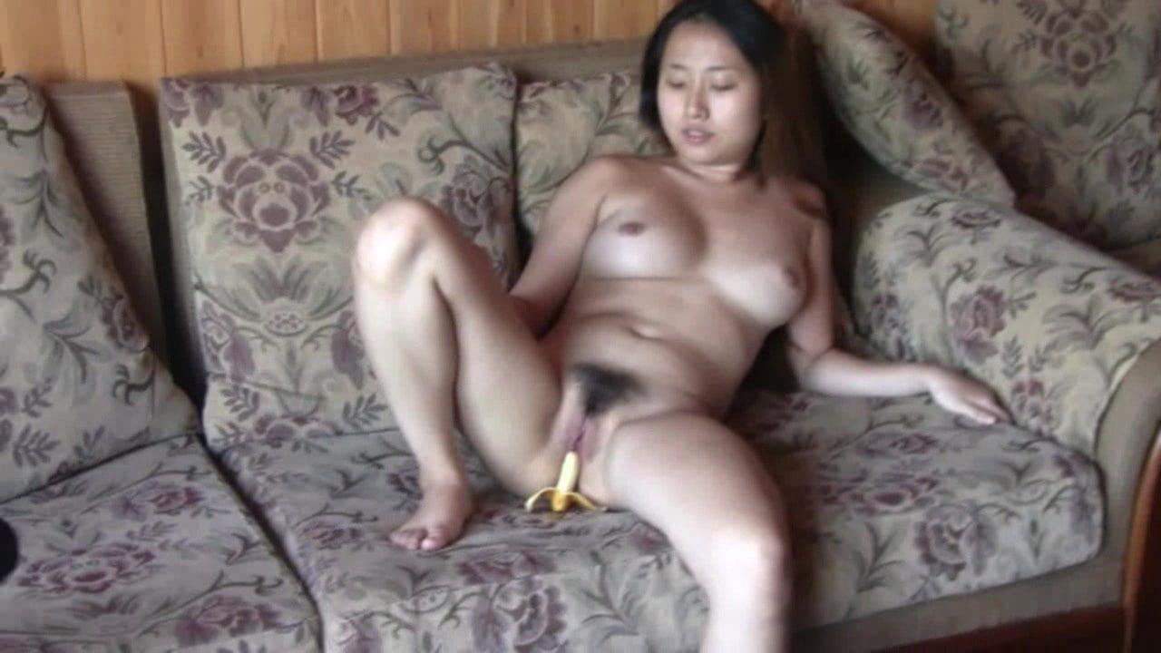 Korean lady's soiled shoot