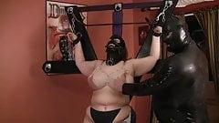 Kinky bondage mask bbw