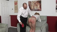 Blondes do have more fun (spanking)!