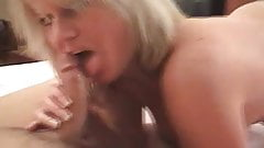 Dirty Talking Blonde MILF does A2M - POV
