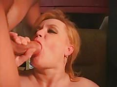 Fat mom gets banged by a plumber